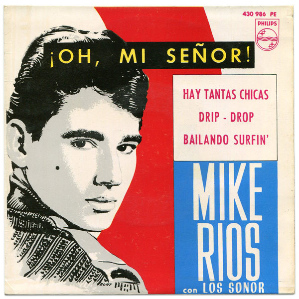 Mike Ríos con los Sonor